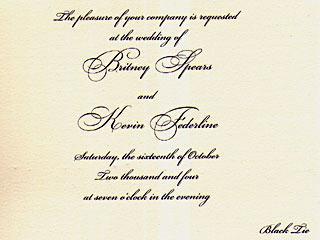 invitatia de nunta britney