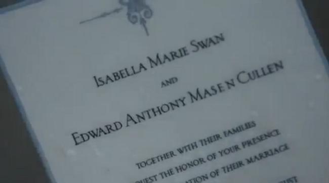 Invitatii Nunta Pentru Filmul Twilight