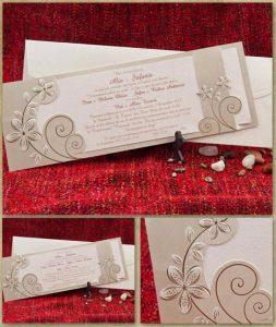 Invitatie de nunta cod 5308
